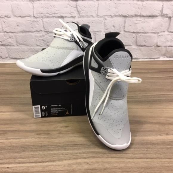 lowest price 9a112 65bd3 Nike Air Jordan Fly  89 Wolf Grey-Black Size 9.5